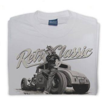 Rina Shirt Ford Model A B/W
